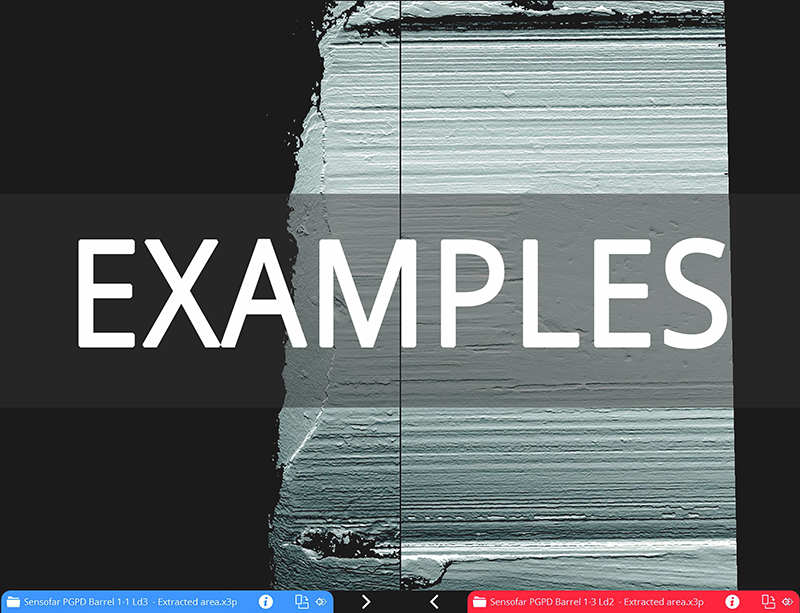 SensoCOMP Examples