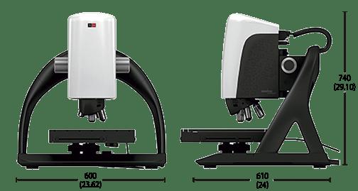 Profiler S neox general dimensions