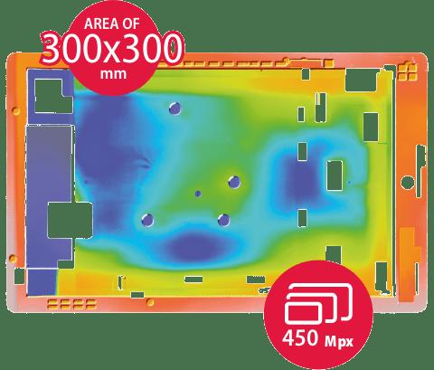 Topography tablet 2D False Color