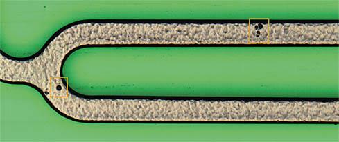 Stent surface defect detection