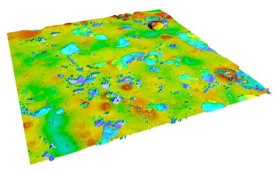 Interferometry Topography