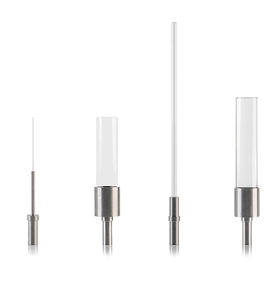 Mandrel fixtures without sample