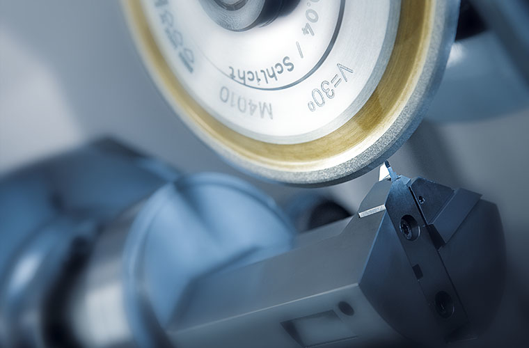 Cutting edge measurement of an insert