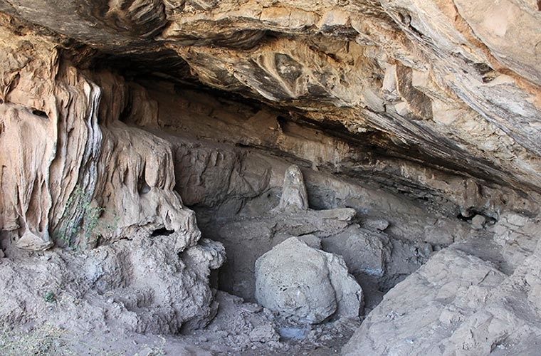 The use of ochre 40,000 years ago in Africa