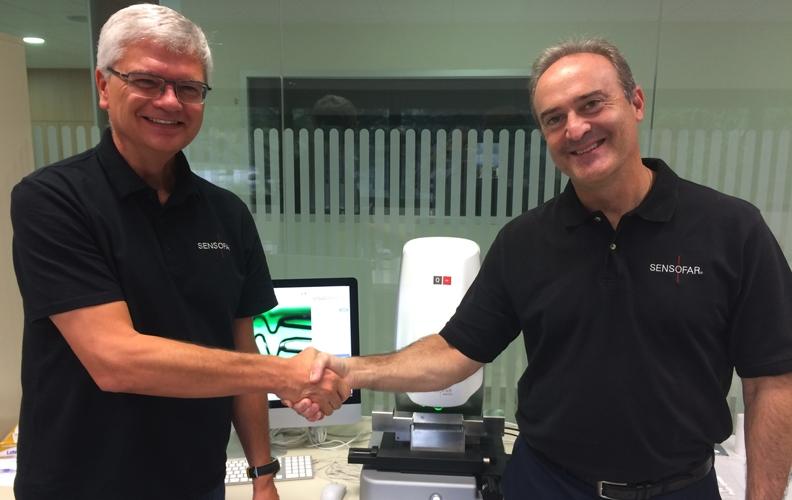 New agreement between Sensofar Medical & Sensofar USA