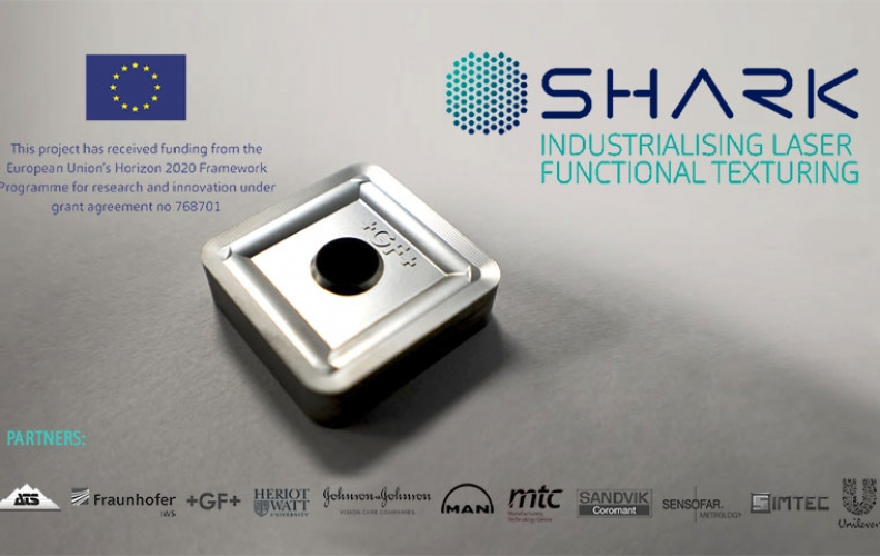 New partnership to drive industrialisation of laser functional texturing