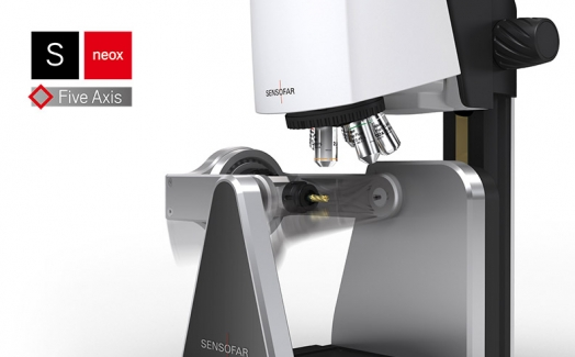 Full 3D measurement solution, S neox Five Axis