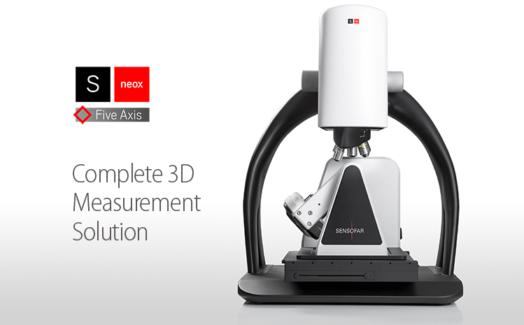 新しい高速フル3D測定ソリューション、S neox Five Axis