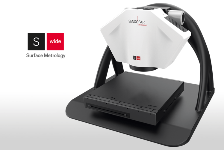 Sensofar Metrology launches its first Large Area 3D optical Metrology System: S wide<b><sup>NEW</sup></b>