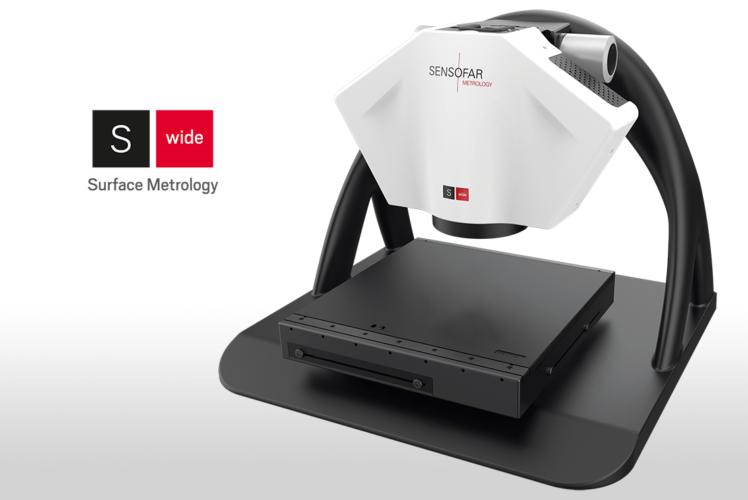 Sensofar Metrology 推出首个大面积 3D 光学测量系统:S wide<b><sup>NEW</sup></b>