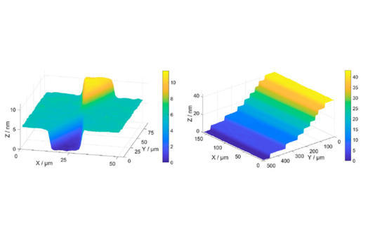 Step height standards based on for 3D metrology