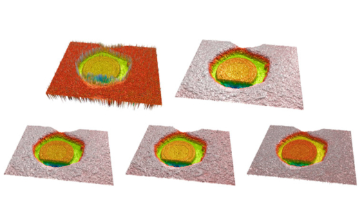 Three-dimensional measurements with a novel technique combination of confocal and focus variation with a simultaneous scan