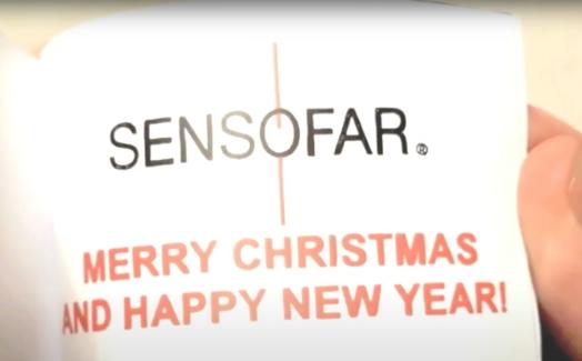 Sensofar Christmas Greetings 2018